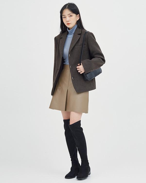 sloat wool button jacket