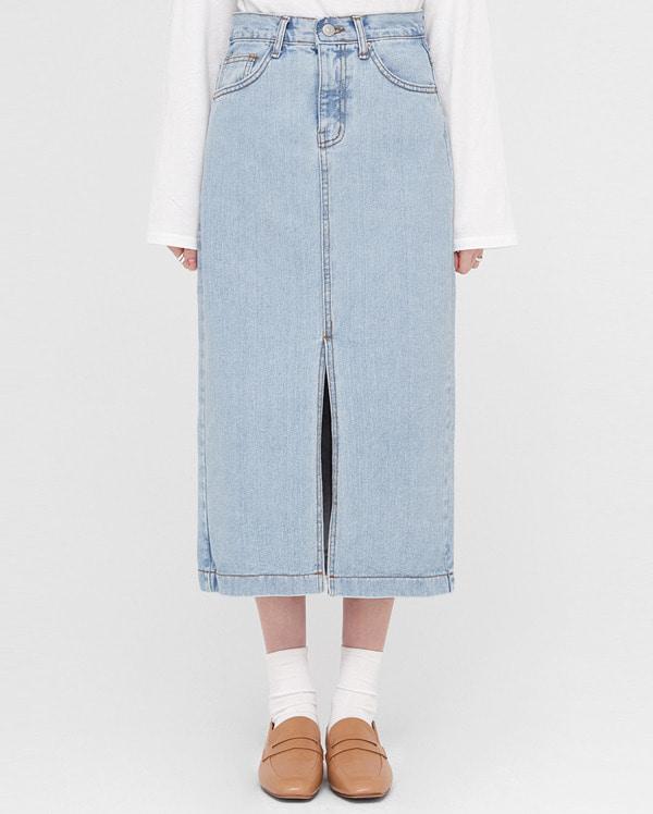 tend denim long skirts (s, m, l)