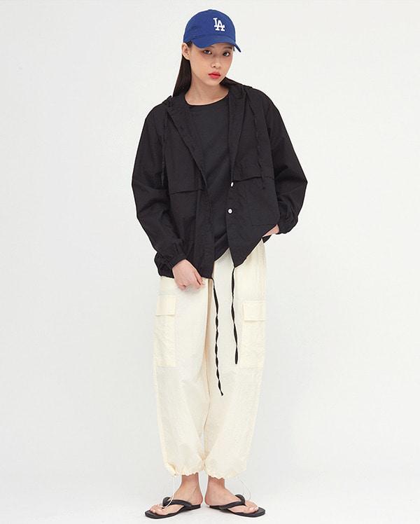 pin hood string shirts
