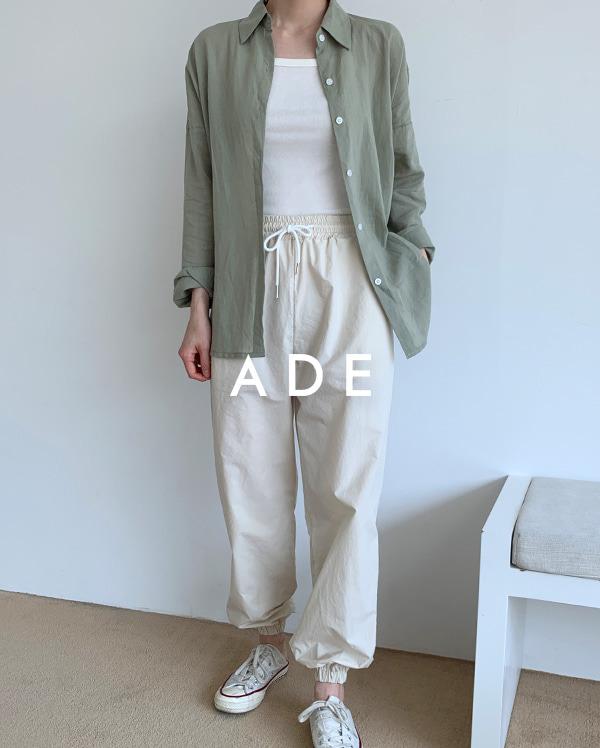 ade cotton jogger pants
