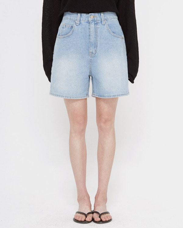 begin wide short denim pants (s, m, l)