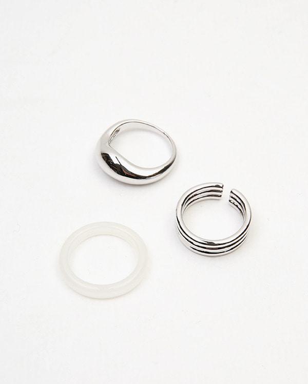 white set ring