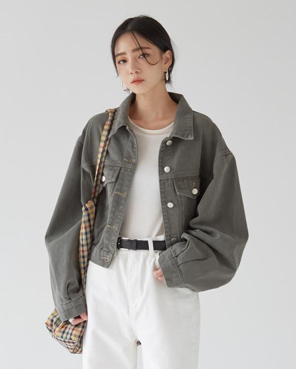 truffle crop jacket
