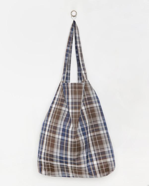 vintage check shoulder bag