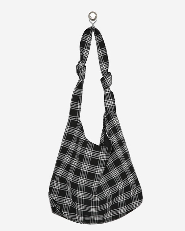 check knot cross bag