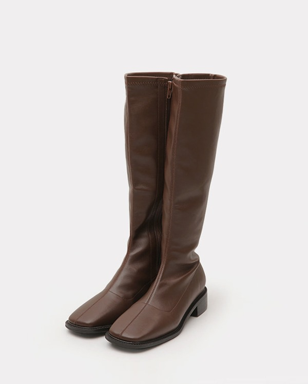 slim fit middle boots (230-250)
