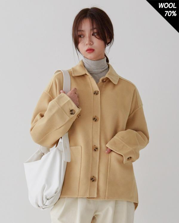 hand made wool robe jacket