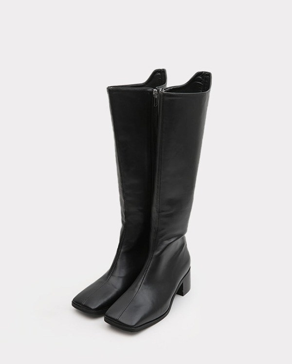 flow square western high boots (225-250)