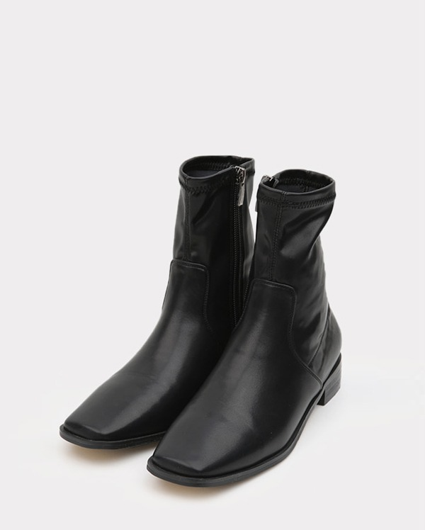 every simple square ankle boots (225-250)