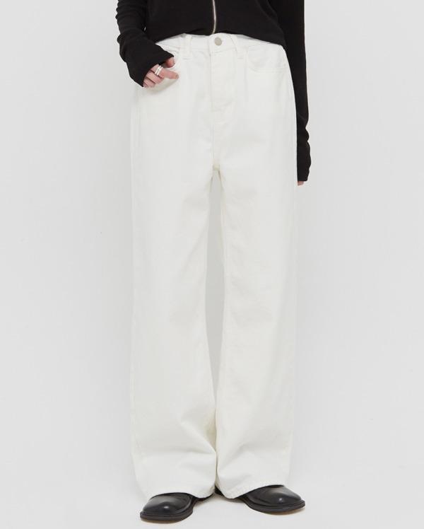 amy wide cotton pants (s, m, l)