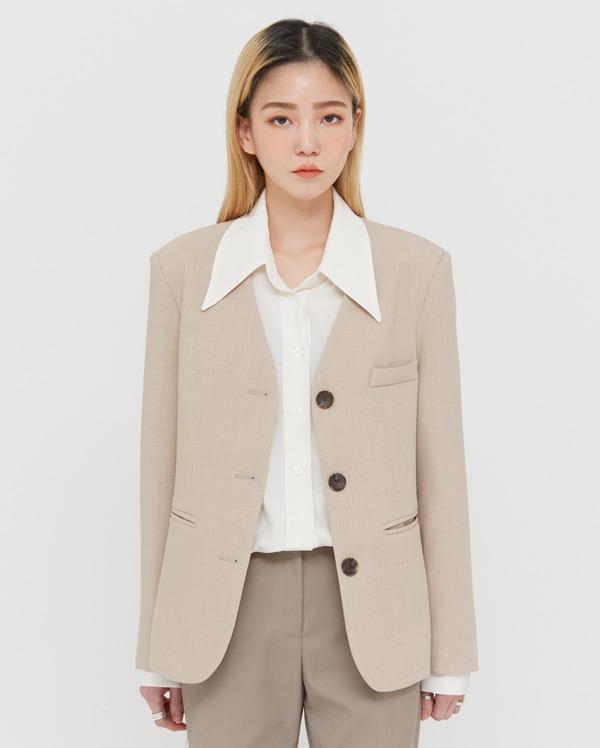 moly non collar jacket