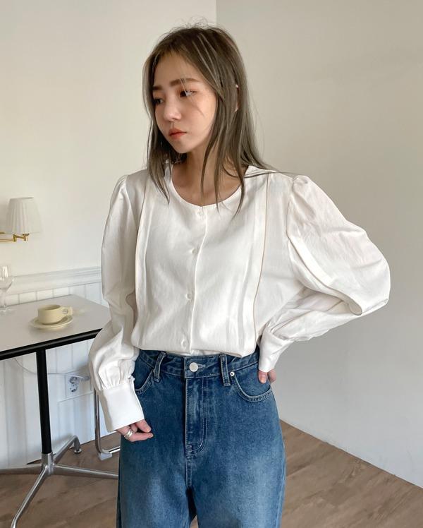 rush pintuck blouse