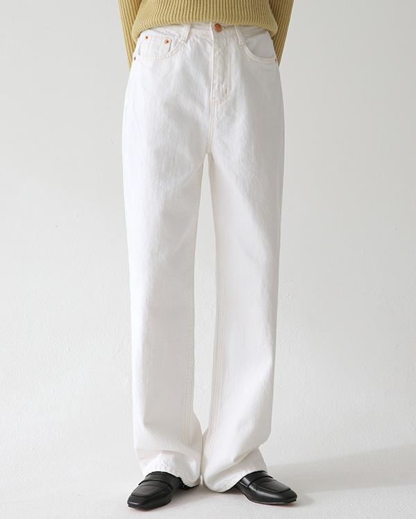 told straight cotton pants (s, m, l)
