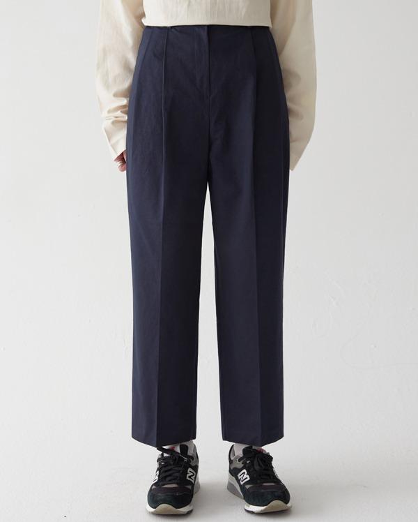 corn wide cotton pants (s, m)