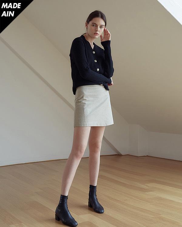 FRESH A grab cotton skirts (s, m)