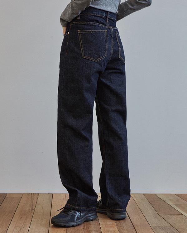bliss dark denim pants (s, m)