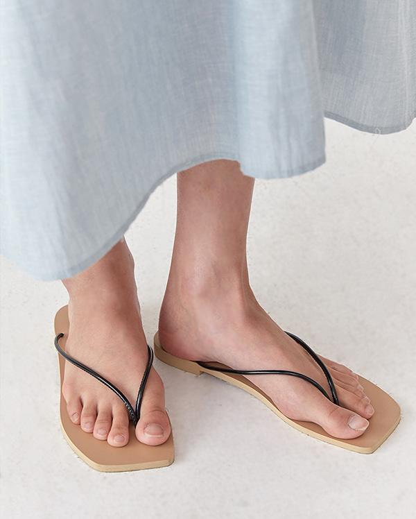 round string flip flop (s, m, l)