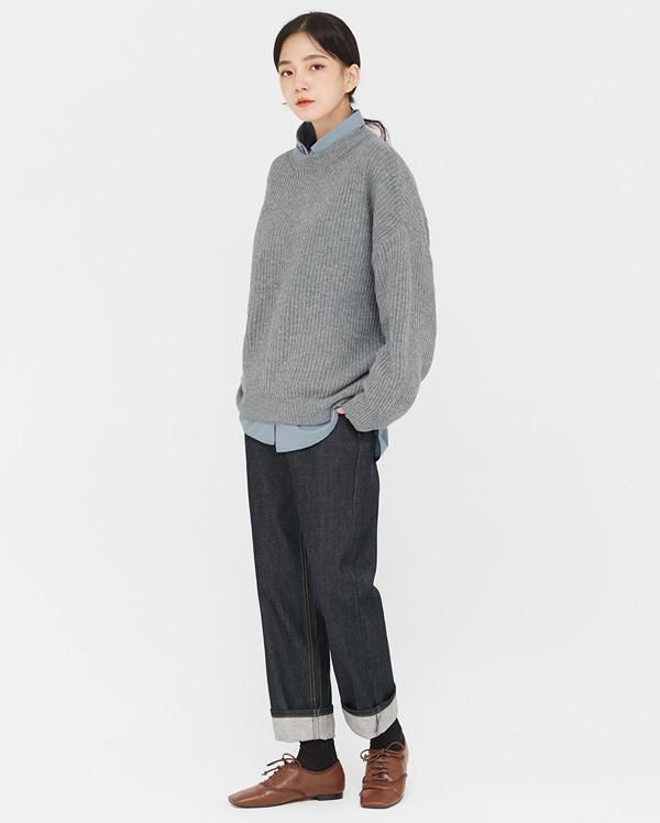 selvedge denim cabra pants (s, m)