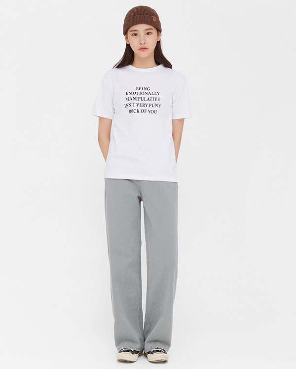graying wide denim pants (s, m, l)