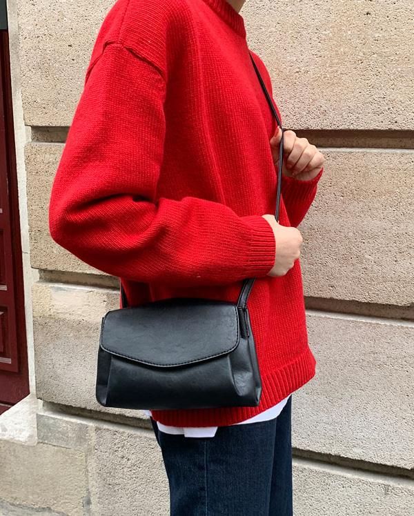 layer close shoulder bag