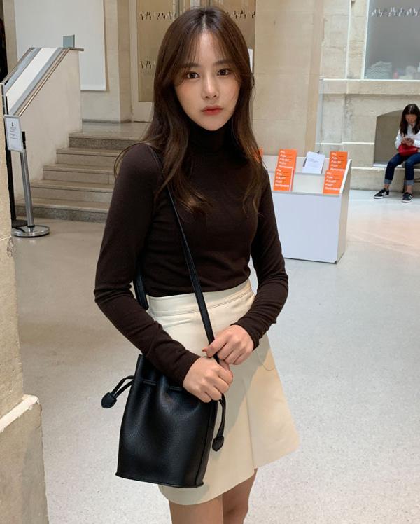 mood leather lucky bag