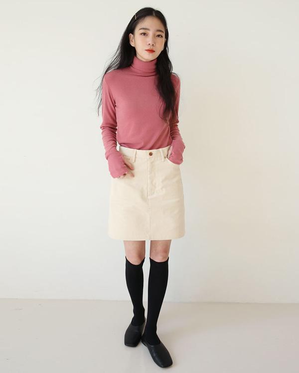 runa corduroy mini skirts (s, m)