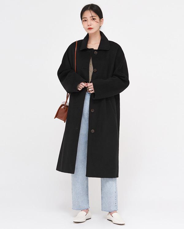 cen wool handmade single coat