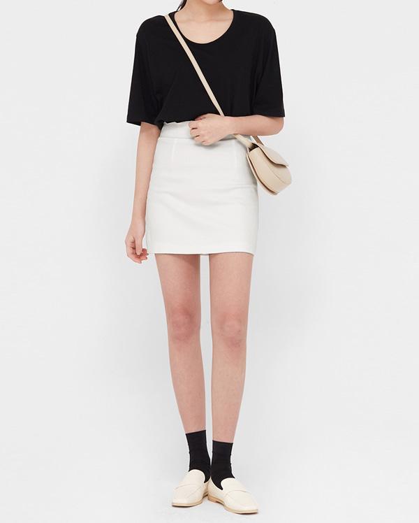 all of basic mini skirts (s, m)