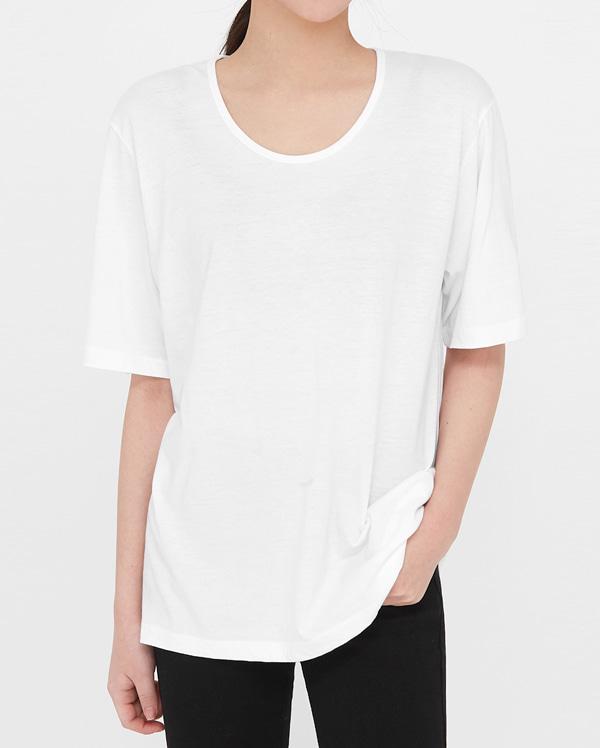 must u-neck short sleeve T