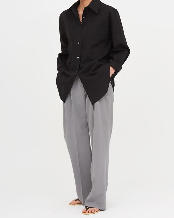two pocket loose cotton shirts