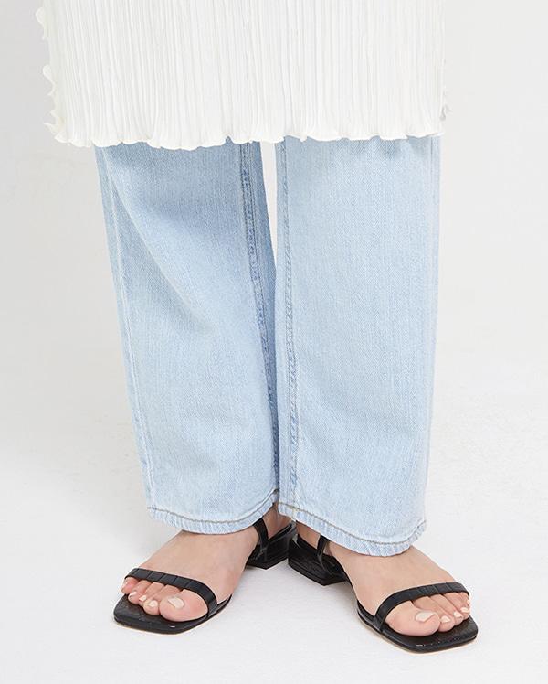 clean two line slipper