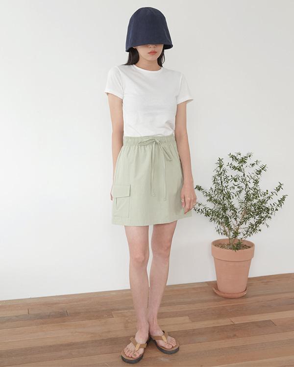 mall cargo mini skirt