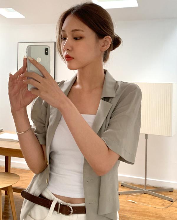 silky shirt or jacket