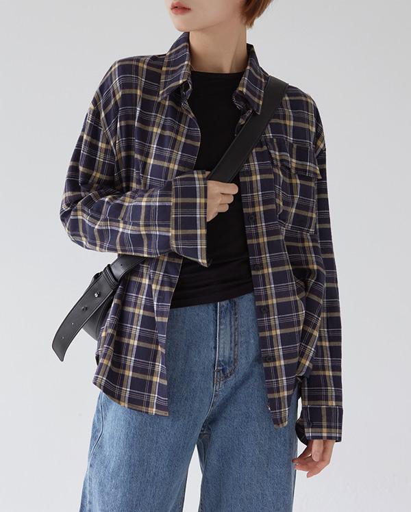 jerry check shirt