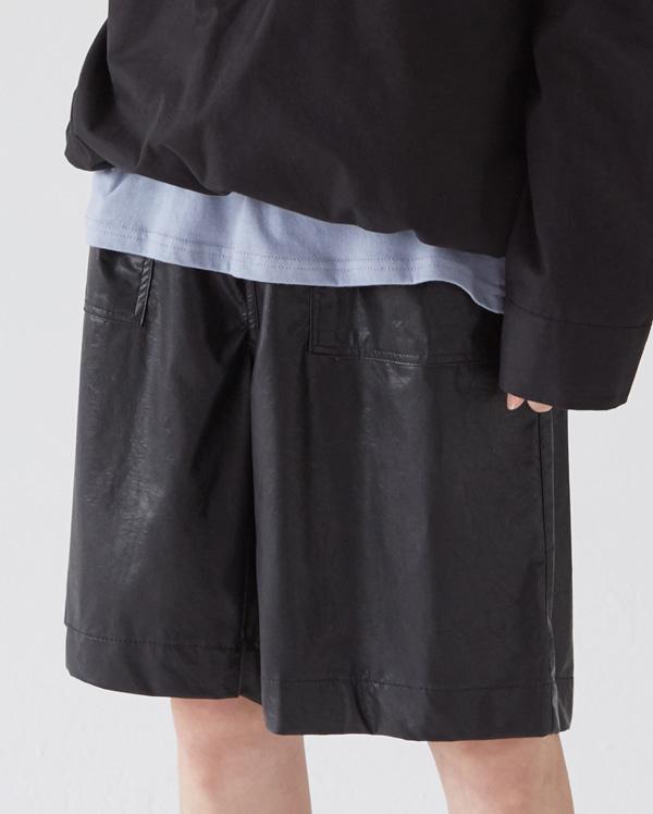 choice leather short pants