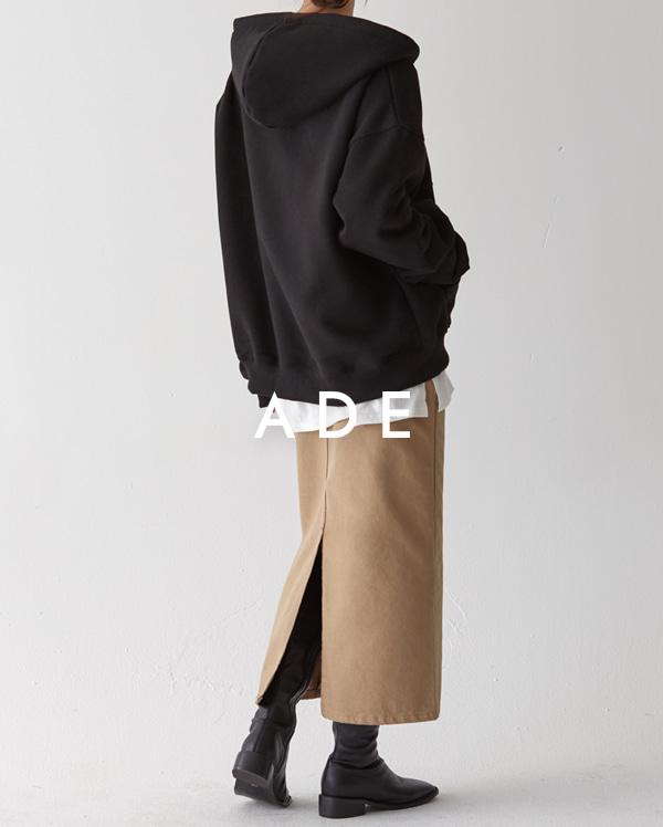 woody cotton long skirt (s, m, l)