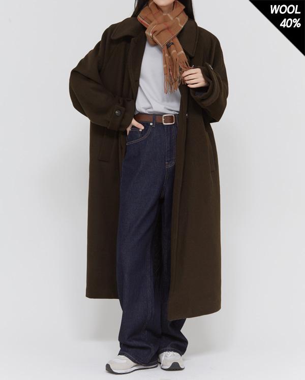 may long wool coat