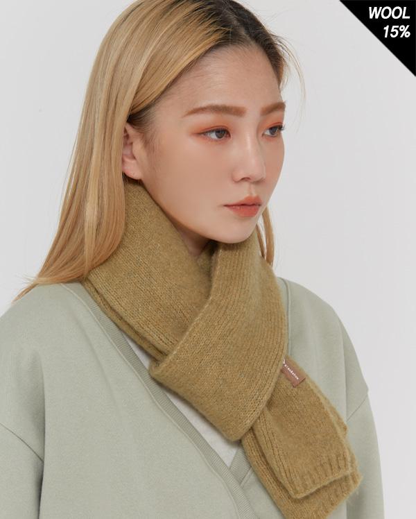 light wool mini muffler