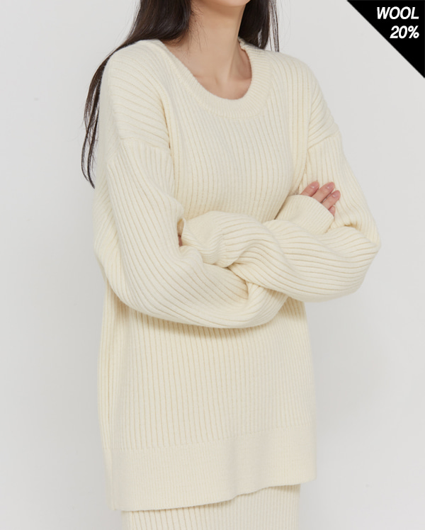 comfy two-piece knit ops