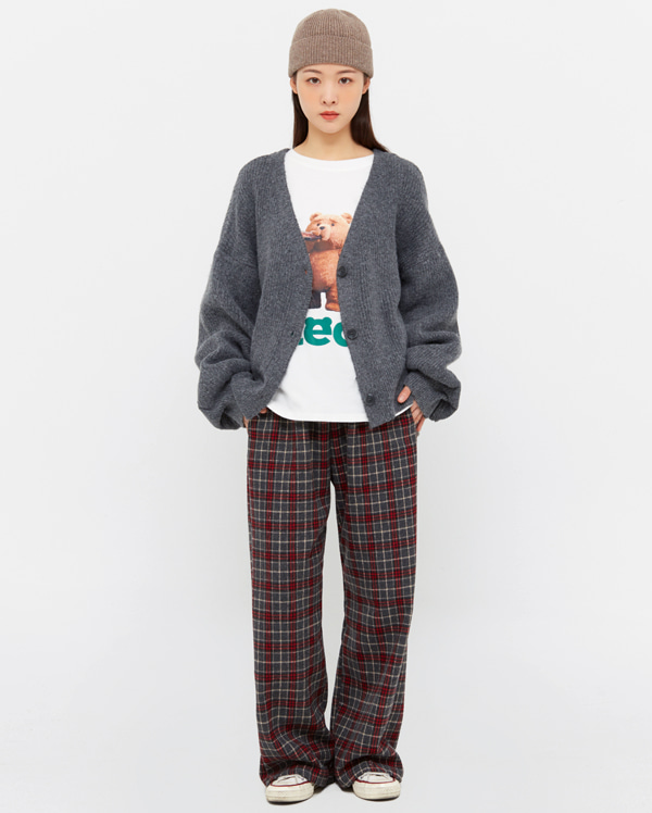 nell casual check pants