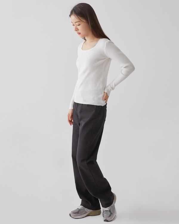 soho cotton wide pants (s, m, l)