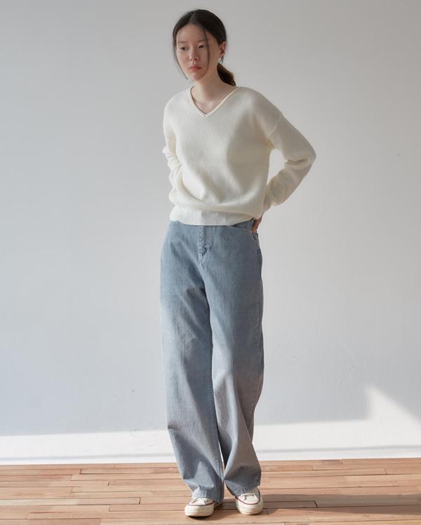 point color wide pants (s, m, l)