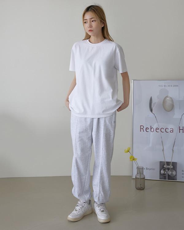 엔크 베이직 반팔 티셔츠 (3color)