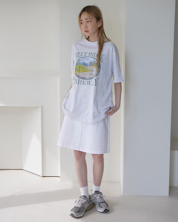빈티지 네이처 반팔 티셔츠 (3color)