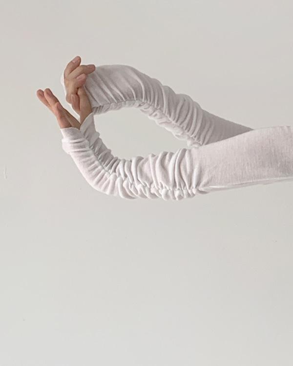 소매 셔링 폴라티 (6color)