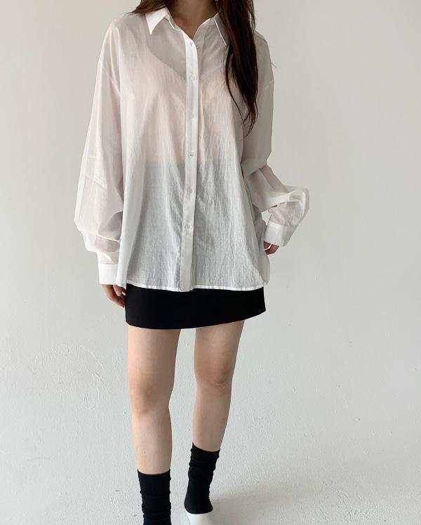 시스루 루즈 셔츠 (5color)