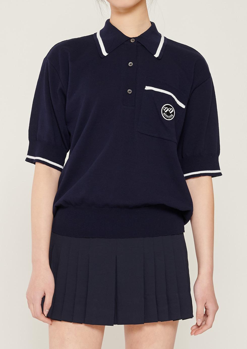 Navy Wappen Pk knitwear - 에몽 공식스토어  aimons