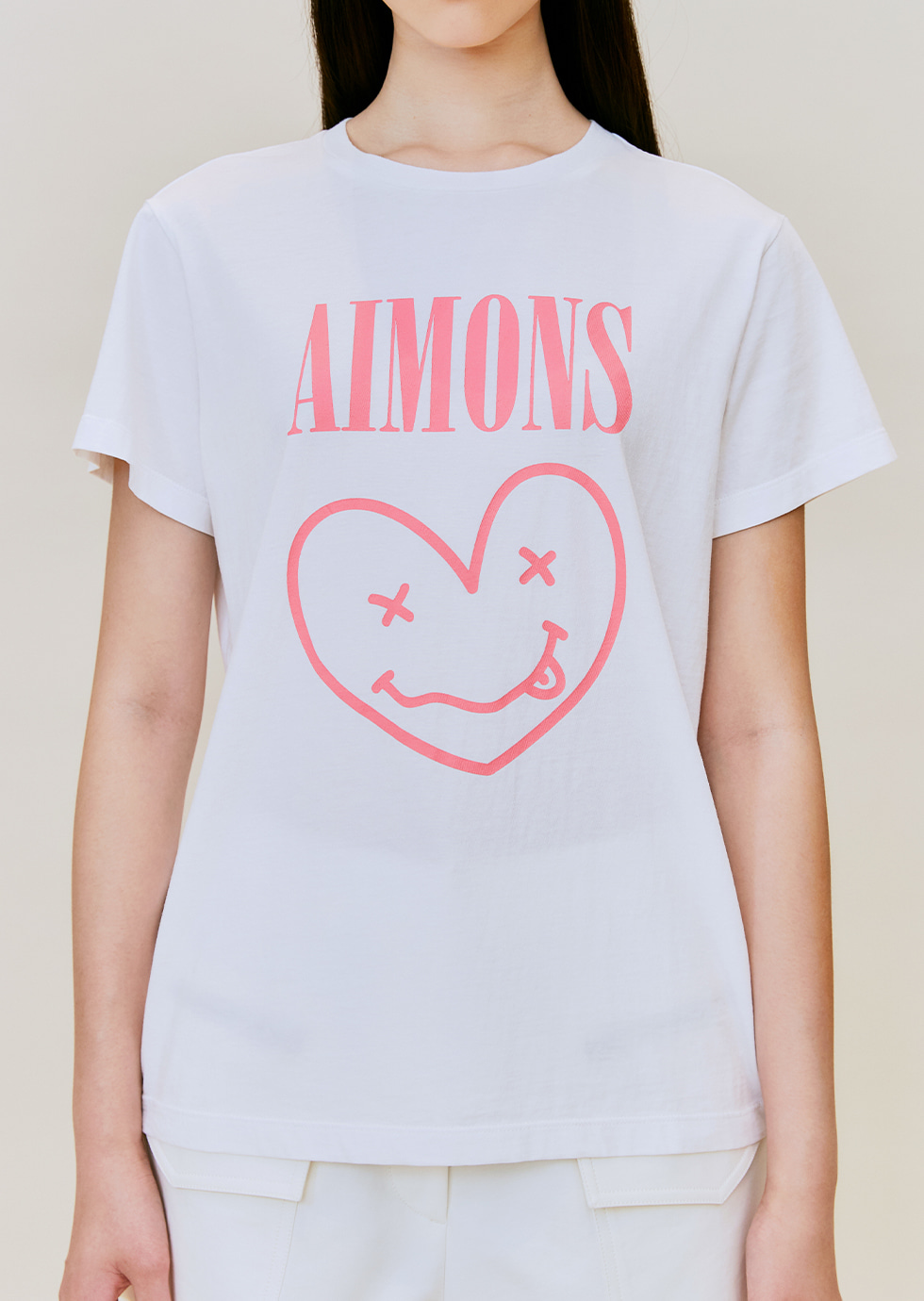 DYLAN WHITE AIMONS SMILE DYED T-SHIRTS - 에몽 공식스토어  aimons