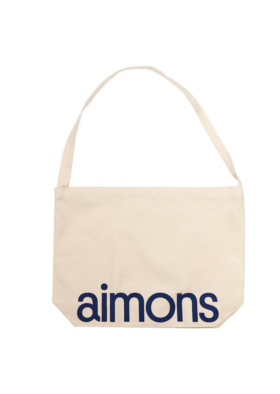 Aimons Ecobag-Ivory (M) - 에몽 공식스토어  aimons