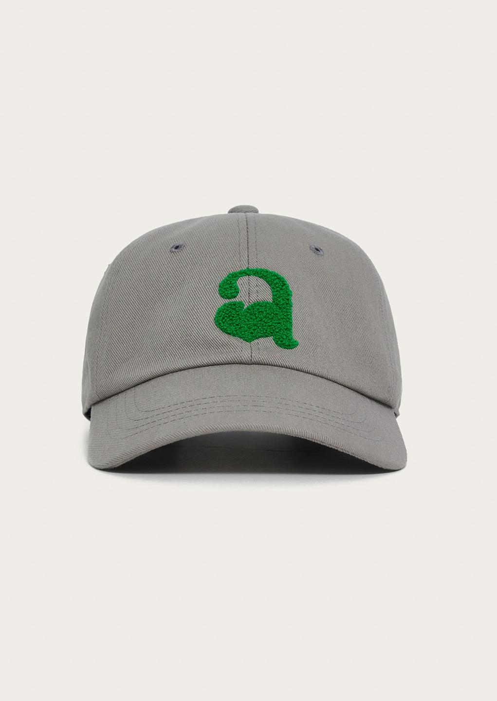 "GRAY PEACH ""a"" BALL CAP - 에몽 공식스토어  aimons"
